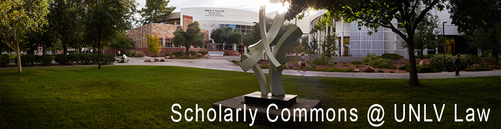 Scholarly Commons @ UNLV Law