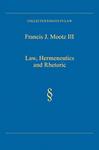 Law, Hermeneutics and Rhetoric
