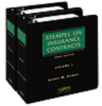 Stempel on Insurance Contracts by Jeffrey W. Stempel