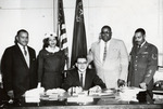 "Governor Sawyer Proclaiming ""Negro History Week"""