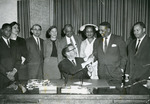 Signing of the Civil Rights Bill of 1965 by University of Nevada, Reno
